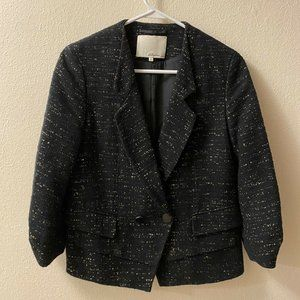 3.1 Phillip Lim Tweed Double Breasted Cropped